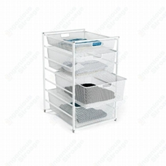 Utility Mesh Basket Drawer Kit for Ingenious Storage