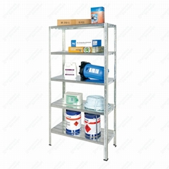 5 Shelf Metal Storage Rack Unit