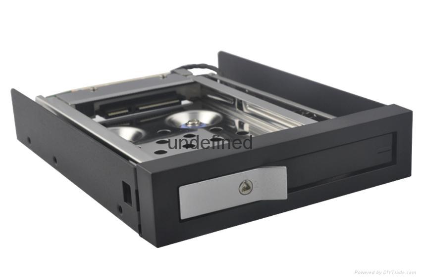 "unestech2.5"" 1盘位,ST2511防震型硬盘抽取盒 3"