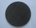 Black Wire Cloth Filter Disc 1