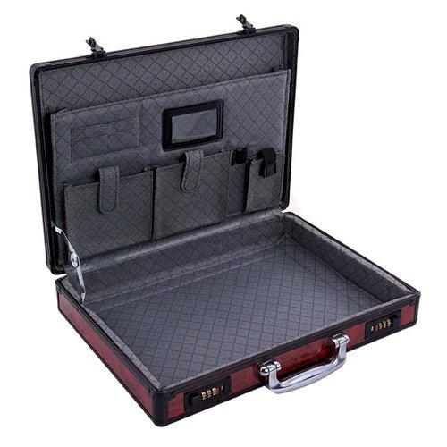 Laptop Case with Red Panel and 2 Combination Locks (HL-2507) 1