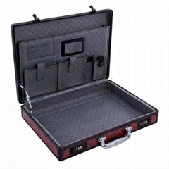 Laptop Case with Red Panel and 2 Combination Locks (HL-2507)