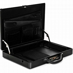 Aluminum Briefcase with Pockets (HL-2506)