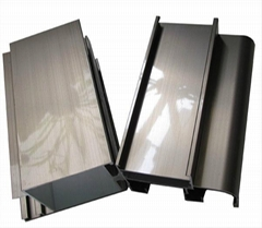 6063 t5/t6 aluminum extrusion profile for widnows and doors
