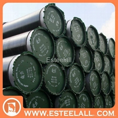 astm api iso erw large diameter and good quality carbon welded steel pipe