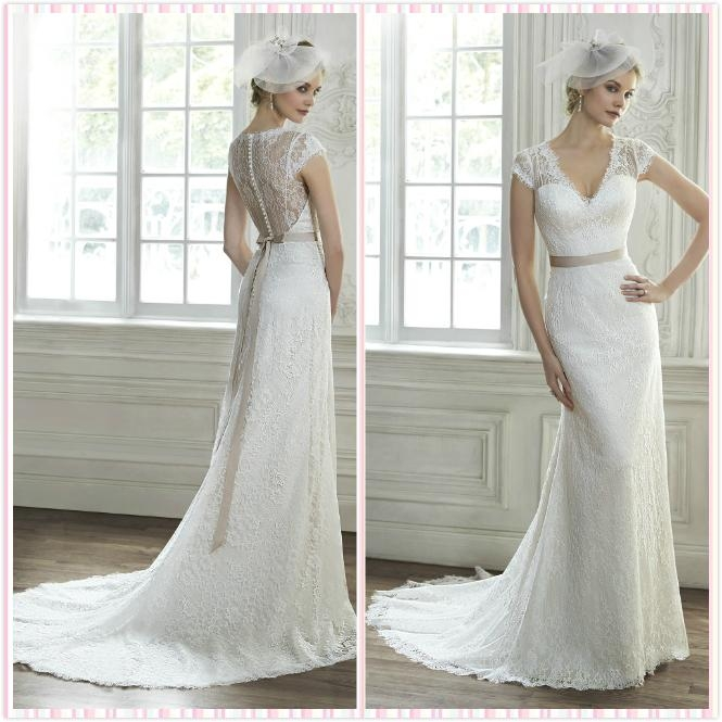 Bridal Lace gown  1