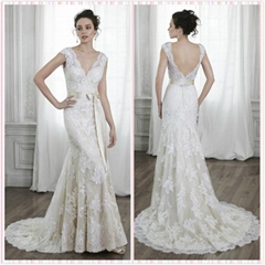 Bridal Lace gown-Aline