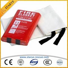 EN Standard Best Quality Fire Blanket Fire Escape Tool Blanket