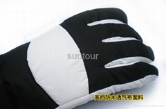 锂电池充电发热手套冬季户外滑雪手套