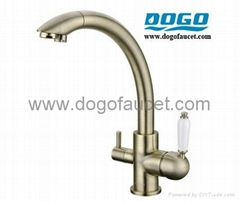UPC lead free brass 3 way kitchen faucets (DG-B3304)