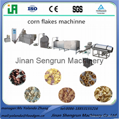 breakfast cereal cornflakes extruder