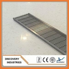 stainless steel wedge wire floor drain