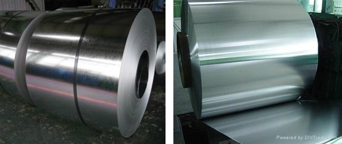 Galvanized steel sheet with primary quality GI steel coils 1