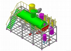 水平管式降膜蒸发器