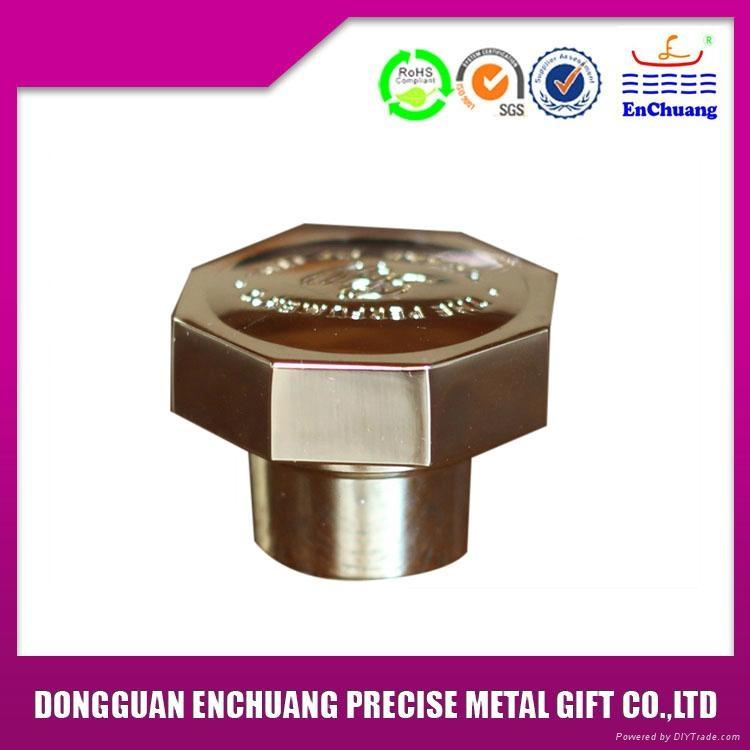 High Precision Zinc Alloy Perfume Cap 1