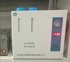 PEM Hydrogen generator of gas equipment for GC usuage 2LPM 99.999% purity 4bar p