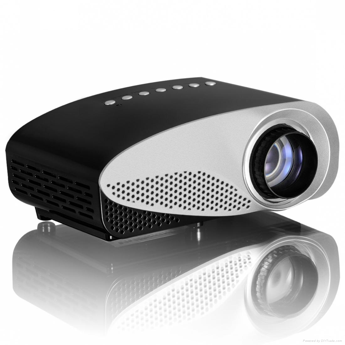 Vivibright newest gp8s projector mini home theater for Micro projector 1080p