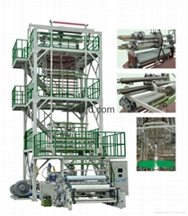 Co-extrusion (Upward Blowing Rotary Traction) Film Blowing Machine Line