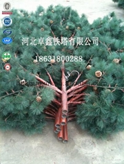 Hot dipped camouflaged tree ga  anized mobile communication tower