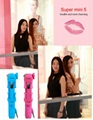 2015 extendable bluetooth selfie stick with zoom for camera and smart phone 2