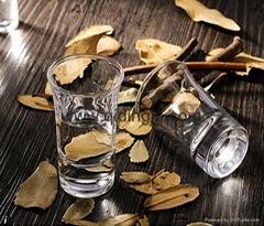 喇叭口玻璃酒杯