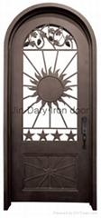 Sunrise Iron Singel Door