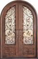 fancy iron entry door