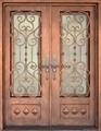 Vatican Iron Door