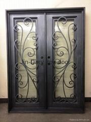 tuscany light iron door