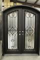 Eyebrow Top Door, Iron Entry Double
