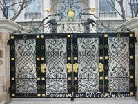 wrought iron gates 1