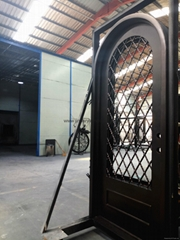 arch single door