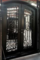 square double door
