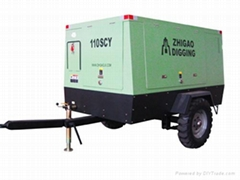 Hot Sale Low Noise Diesel Screw Type Air Compressor 110SCY-8