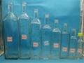 墨绿色橄榄油瓶