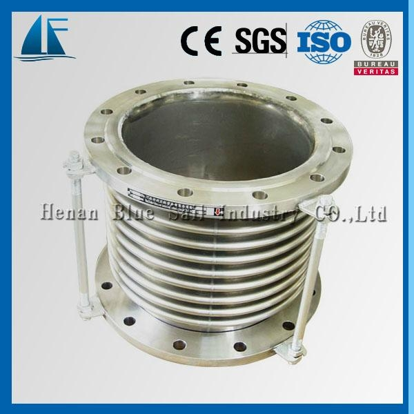 Dn stainless steel exhaust bellows expansion joint cjq