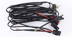 Off Road ATV/Jeep LED Light Bar Wiring Harness Kit - 40 Amp Relay ON/OFF Switch