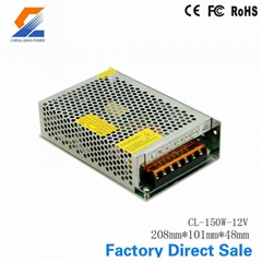 150W 12V nonwaterproof LED switch power supply