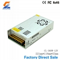 360W 12V nonwaterproof LED switching power supply