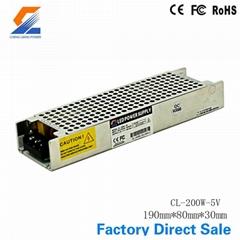 200W 5V Extra Thin Switch Mode Power Supply