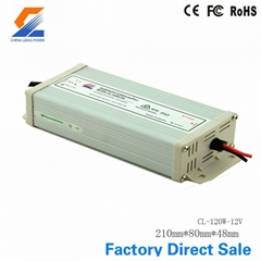 120W 12V Rainproof Switch Mode Power Supply