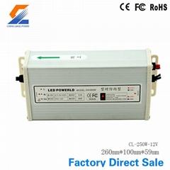 250W 12V Rainproof Switch Mode Power Supply