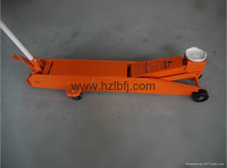 hydraulic garage car service long floor jack 1