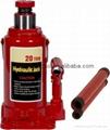 vehicle repair hydraulic bottle lift