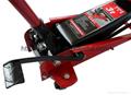 hydraulic garage jack with 2 pumps quick