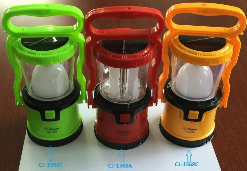 2 in 1 Rechargeable LED Campling Lantern 1