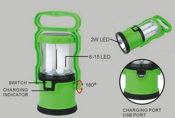 2 in 1 Rechargeable LED Campling Lantern 4