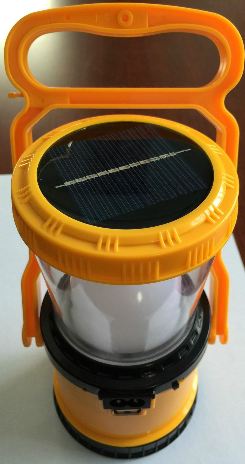 2 in 1 Rechargeable LED Campling Lantern 3