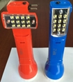 LED Rechargeable Flashlight Torch 2