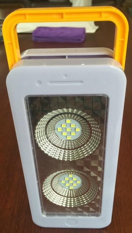 Multifunction Rechargeable LED Handed Lamp Light 1